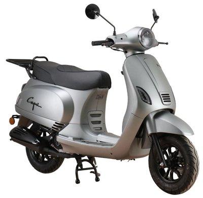 Santini Capri Digital EFI Scooter Matt Grey 2021 E5
