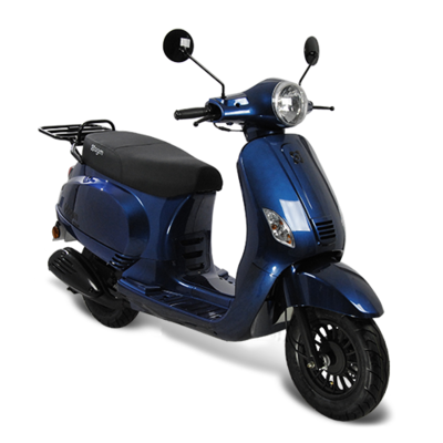 AGM VX50 scooter donkerblauw