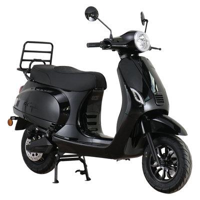 Santini e-Capri 3.0 Elektrische Scooter Glanszwart
