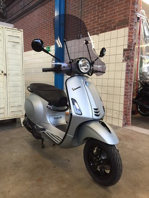 Vespa Primavera Frozen Ice Grey