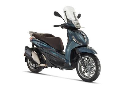 Piaggio Beverly 300 E5 HPE Blue Oxygen B12