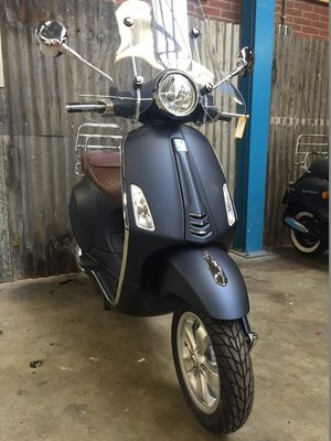 Vespa Primavera Opaco Blue Midnight