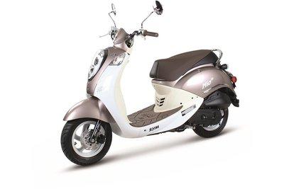 Sym Mio Golden Mocha / White scooter