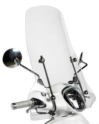 Windscherm Hoog Kymco Like TT scooter