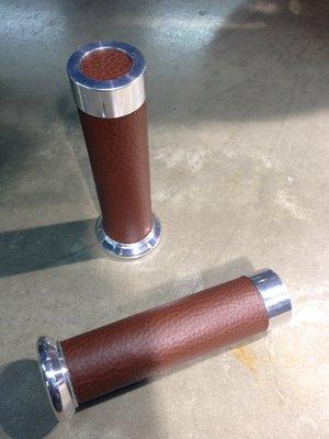 Vespa Grips LX/S Brown