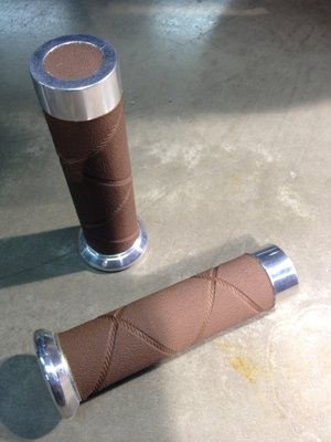 Vespa Grips LX/S Ruitlook Brown