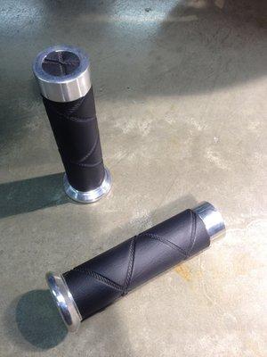 Vespa Grips LX/S Ruitlook Black