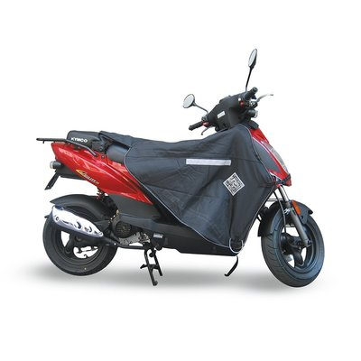 "Tucano Urbano Termoscud beenkleed zwart voor Kymco Agility 10""/12""/16""/ Peugeot Ludix / V-Clic / Speedfight / Sym Jet Sport X / VS / Yamaha Aerox"