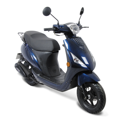 AGM SP50 scooter donkerblauw