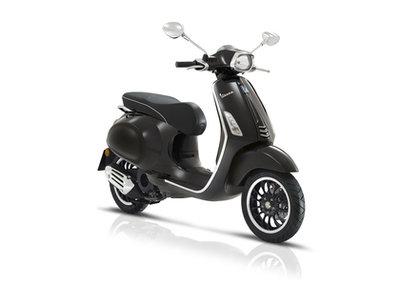Vespa Sprint Nero Lucido Zwart E4 I-GET scooter