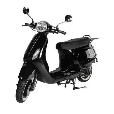Santini Capri E4 Scooter Zwart