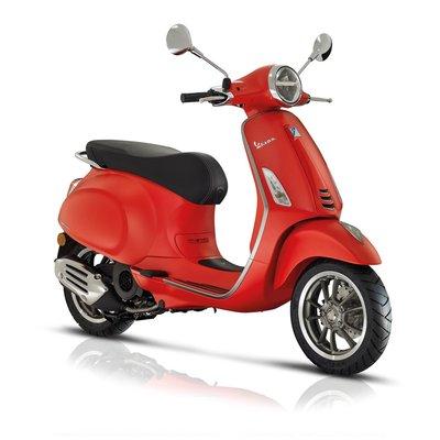Vespa Primavera S I-GET E4 Rosso Matt scooter 2018/2019
