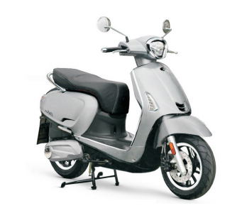 Kymco Like E4 Mat Metallic Zilver