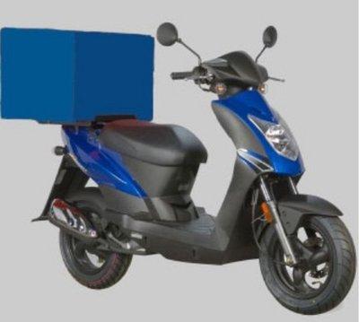 Pizzabox - Blauw Domino's