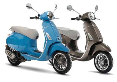 Vespa Primavera 50th Anniversario Matt Brown Metallic