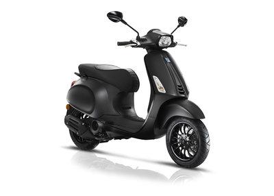 Vespa Sprint Matzwart Notte E4 I-GET scooter