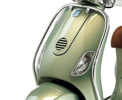 Voorvalbeugel chroom  Vespa LX accessoire