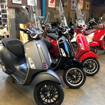 Vespa Sprint IGET E4 45km Outlet
