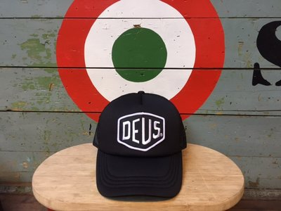 Deus Baylands Trucker Black-White