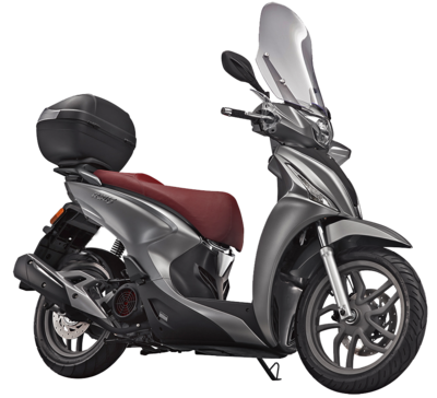 Kymco New People S E4 Mat Grijs 45 km/u