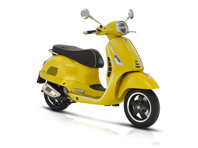 Vespa GTS Super 300 HPE ABS Summer Yellow