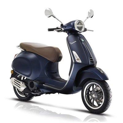 Vespa Primavera S I-GET E4 Blue Matt scooter 2018/2019