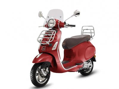Vespa Primavera Touring I-GET E4 Rosso Vignola 2018/2019