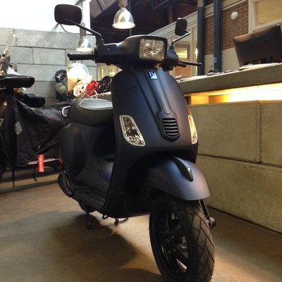 Vespa S Opaco Blue Midnight