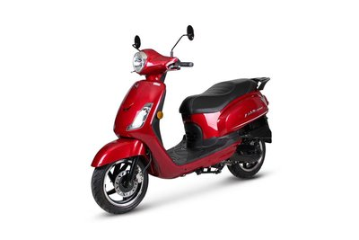Sym Fiddle II Rood Red E4 voorkant