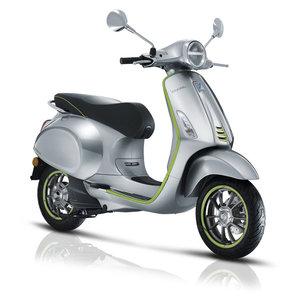 Vespa Elettrica Aluminium/Groen