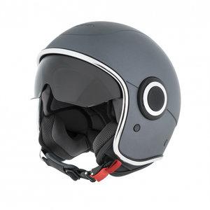 Vespa Helm VJ1 Grigio Titanio