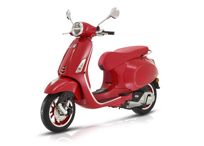 Vespa Primavera Red Edition E4 I-GET