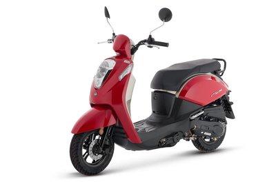 Sym Mio 50i Rood (Red) E4