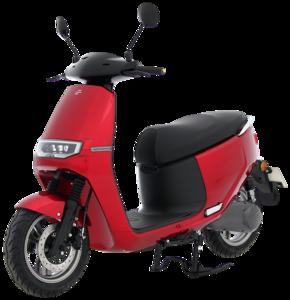 Ecooter E2 rood