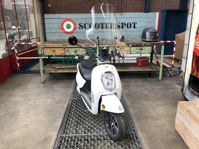 Monasso Elektrische scooter Wit 25km/u 2017