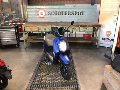 Monasso Elektrische scooter Blauw 25km/u 2017