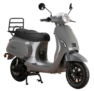 Santini e-Capri elektrische scooter Nardo Grey rechtsvoor