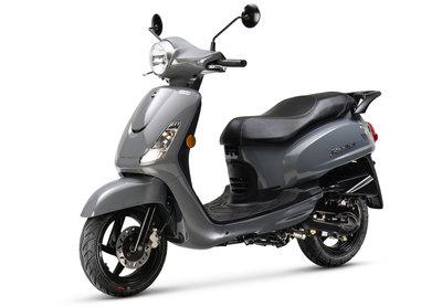 Sym Fiddle II Rich Grey nardo scooter