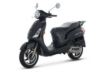Sym Fiddle II Black zwart scooter