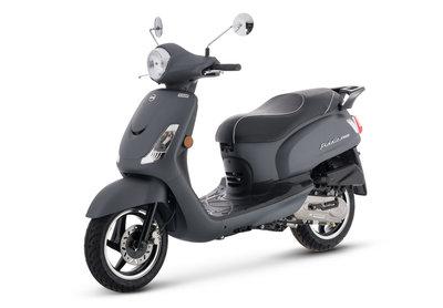 Sym Fiddle II Matt Grey matgrijs scooter