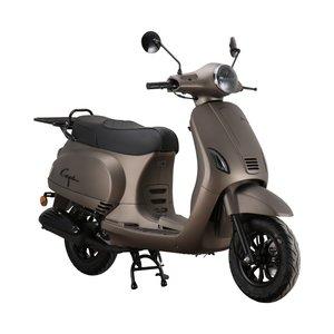 Santini Capri Digital scooter Opaco Cioccolato matbrons metallic rechtsvoor