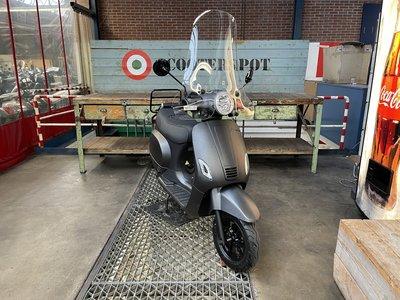 Santini e-Capri Elektrische Scooter 45km/u Matzwart 2020