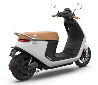 Segway E125s Elektrische scooter Wit eScooter Arctic White Glossy