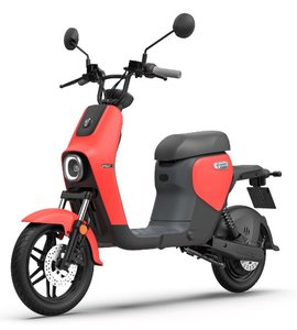Segway B110s Elektrische scooter Rood eMoped Red Dark Grey
