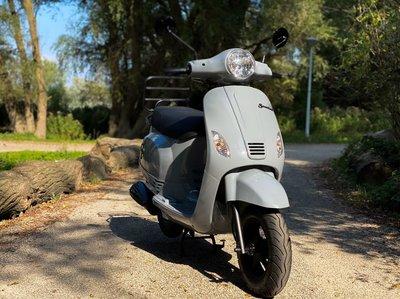 Santini Capri Nardo Grey scooter