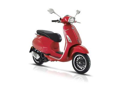 Vespa Sprint Rosso Dragon Rood E4 I-GET scooter