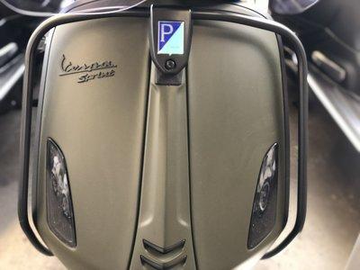 Voorvalbeugel Vespa Primavera/Sprint Mat Zwart