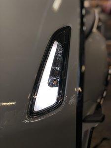 Vespa Sprint/Primavera smoke LED tube knipperlichten voorzijde