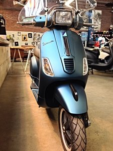 Vespa S Ice Blue Opaco