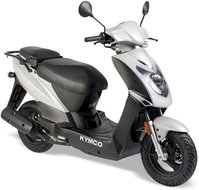 Kymco Agility 10 inch White Silver CN603PA